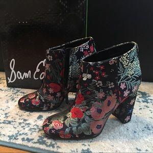 Sam Edelman 'Campbell' Bootie block heel size 7.5